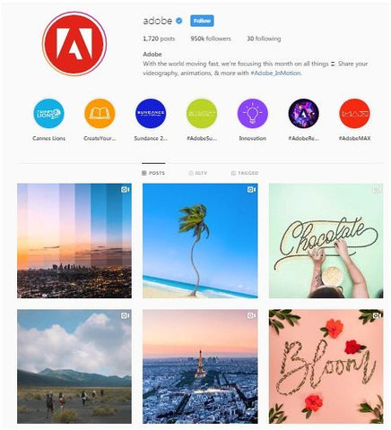 photography software brand Adobe
