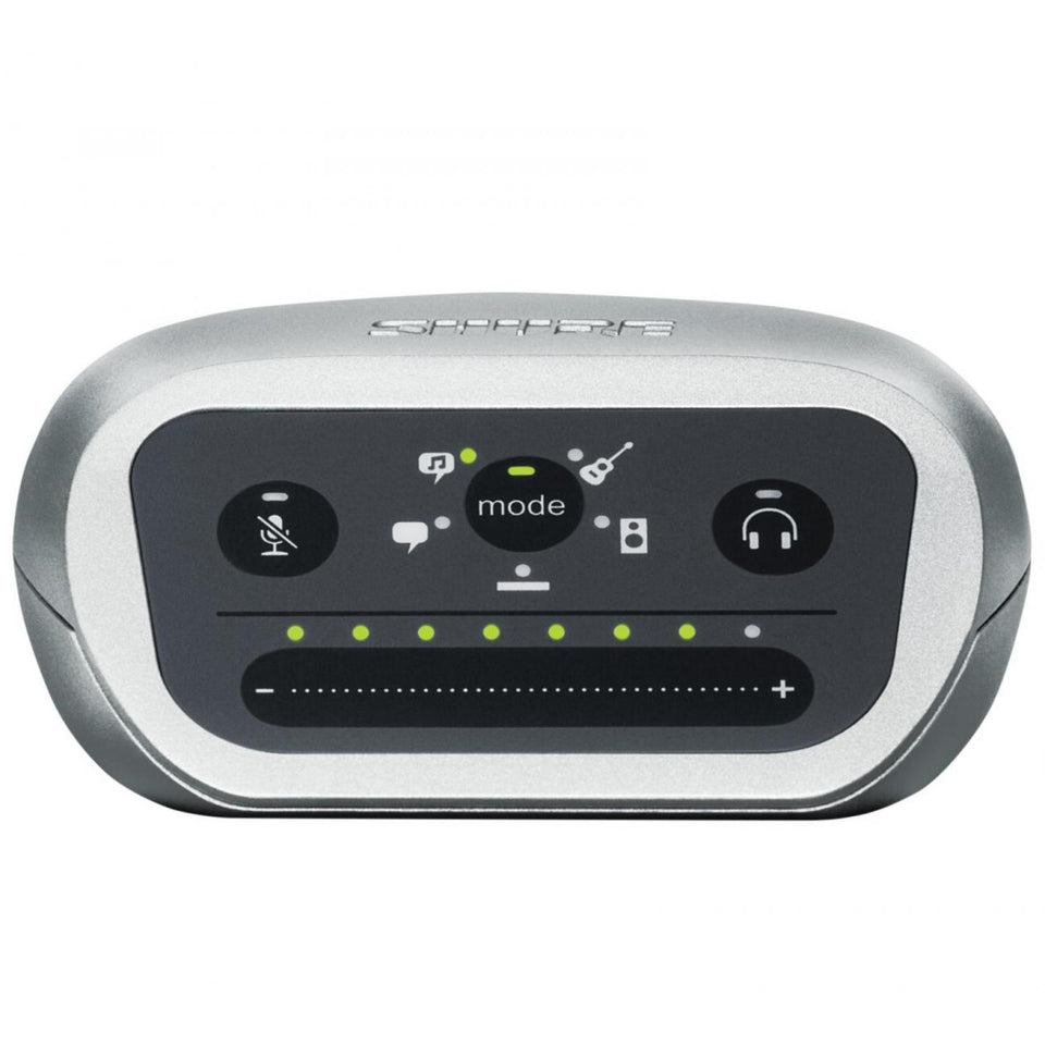 Interface Shure De Audio Digital Entrada Combo, Mvi/a-ltg