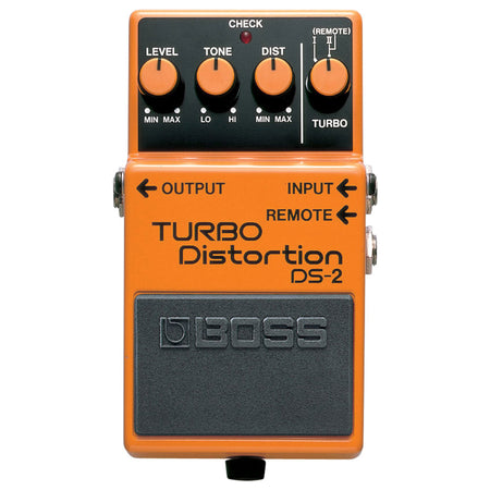Pedal Efecto Boss Turbodistortion, Ds2