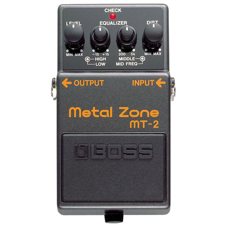 Pedal Efecto Boss Metalzone, Mt-2