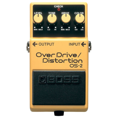 Pedal De Efecto Boss Overdrive Distortion, Os-2