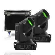 Cabezas Moviles Alien Beam 7rz Con Estuche 44-Kit-7r-z