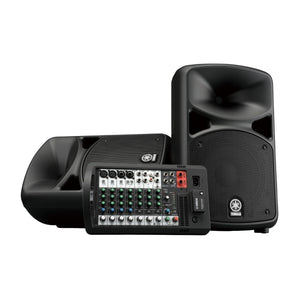 Sistema De Audio Portatil Yamaha Con Bluetooth 600w Stgps600bt
