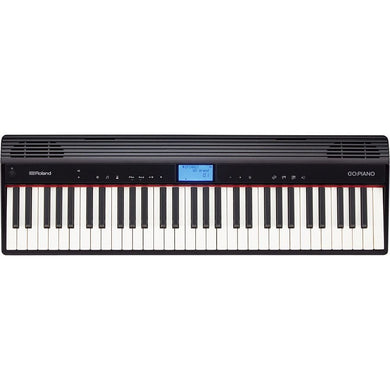 Piano Roland Digital Portatil 61 Teclas Con Bluetooth, Go-61p