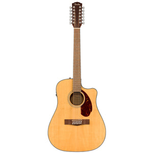 Guitarra electroacustica fender 12 cuerdas cd-140sce-12 natural wc 0970293321