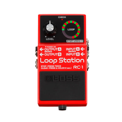 Pedal De Efectos Boss Compacto Loop Station Rc-1