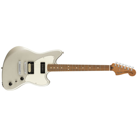 Guitarra Fender Power Caster Mexicana Eléctrica Ópalo Blanco 0143523351
