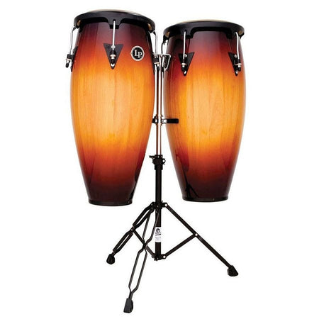 "Congas Lp City 11""/12"" Mad. Somb. C/Atril, Lp647ny-Vsb"