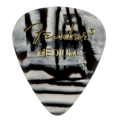 Pua Fender Zebra Medium Celluloid 12 Piezas 1980351202