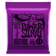 Encordadura Ernie Ball Power Slinky 2220 Para Guitarra Eléctrica Nickel Wound .011-.048