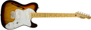 Guitarra Electrica Fender Squier Vm 72 Thinline Mn 3ts, 0301280500 Mina