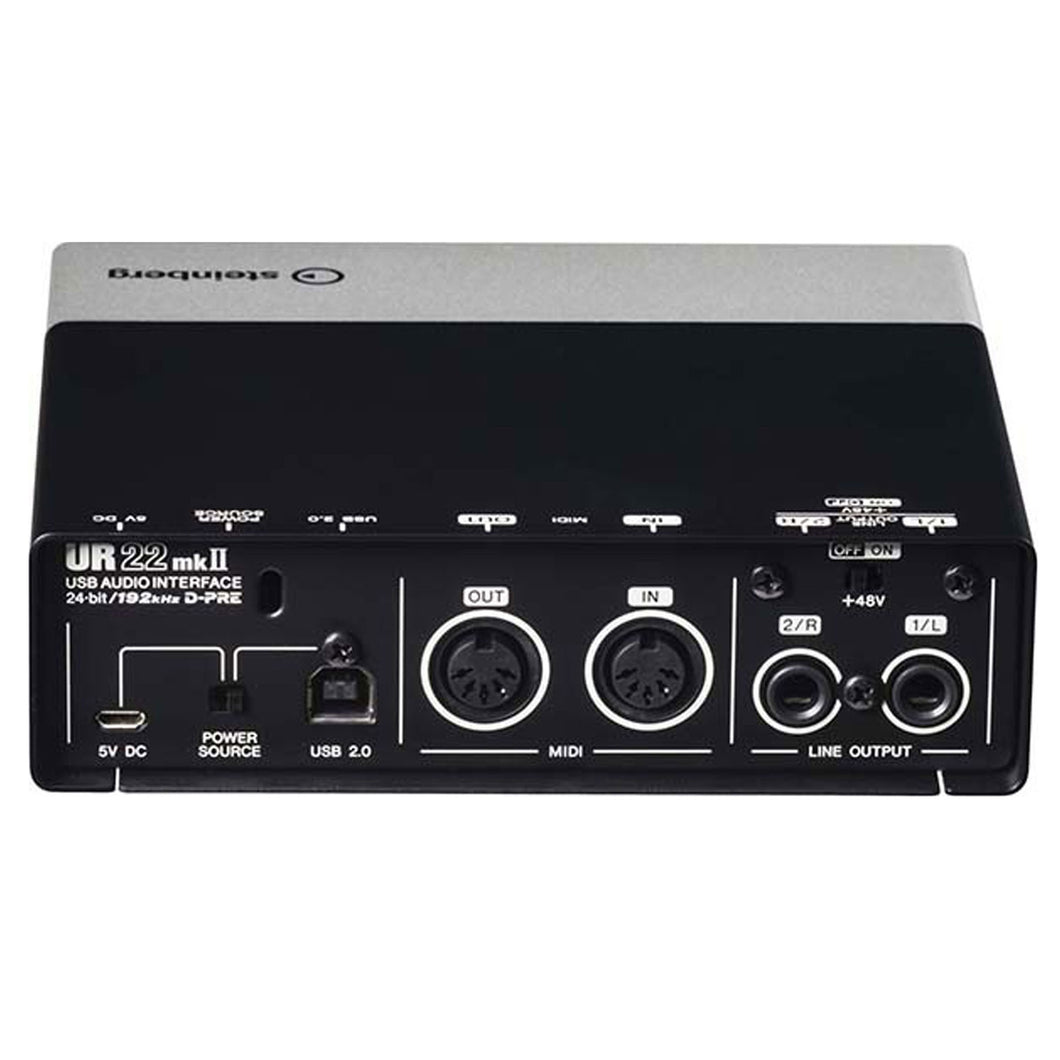 Interface Audio Steinberg Usb 2x2 I/O Midi Y Dsp, Ur22mkii