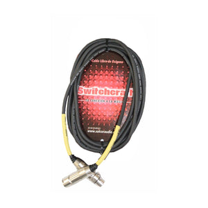 Cable Switchcraft P/Microfono Baja 6 Mts. 52bsw06