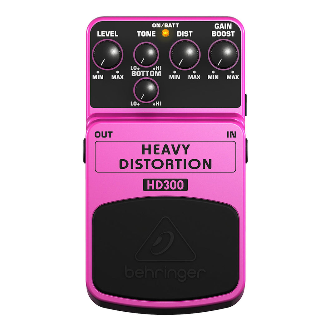 Pedal Behringer Heavey Distortion, Hd300
