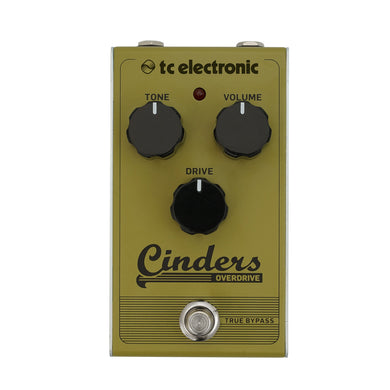 Pedal Tc Electronic CINDERS OVERDRIVE CINDERSOV Overdrive Vintage Para Guitarra Eléctrica