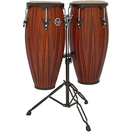 "Congas Lp 11"" Y 12"" Mahogany Satin Finish, Lp647ny-Cmw"