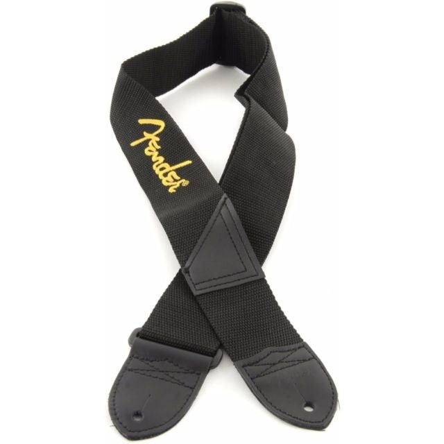 Thaly Fender P/Guitarra Blk Poly Strap Yellow 2 , 0990662070