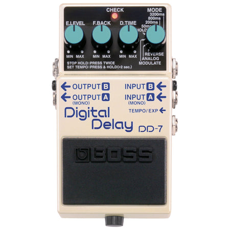 Pedal Efecto Boss Digital Delay, Dd-7