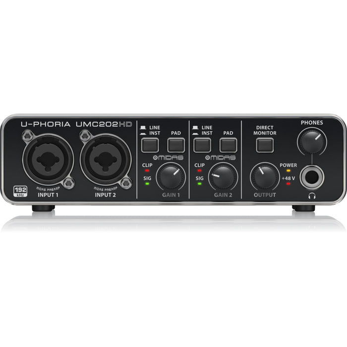 Interfase Behringer, Umc-202hd