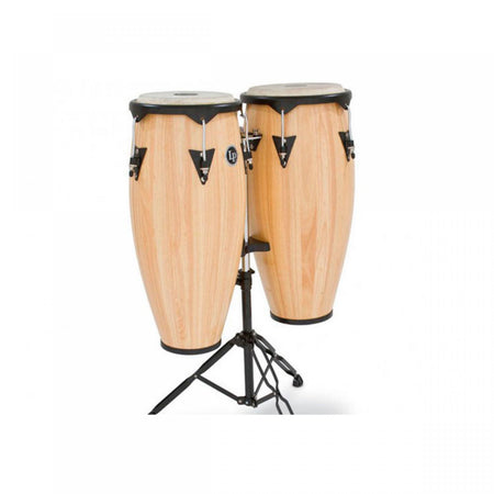 "Congas Lp City 11""/12"" Mad. Nat. C/Atril, Lp647ny-Aw"