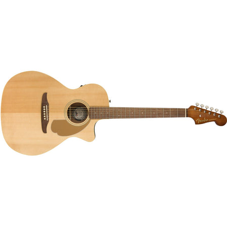 Guitarra Fender Newporter Player Electroacústica Natural 0970743021