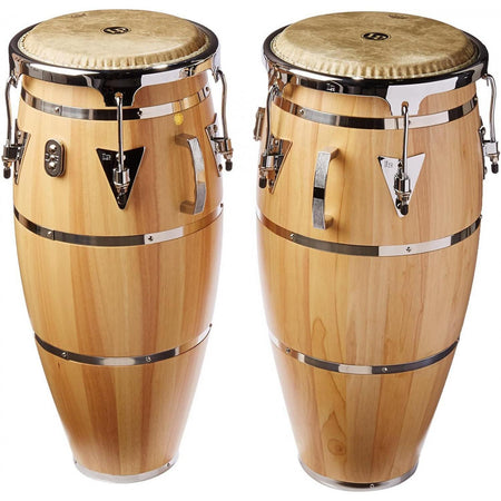 Congas Lp Lph646-snc Aspire 10 Y 11 Pulgadas Natural Con Atril