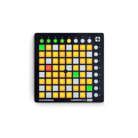 Controlador Novation Launchpad Mini Mk2, Novlpd08