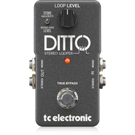 Pedal Tc Electronic Ditto Stereo Looper Para Guitarra