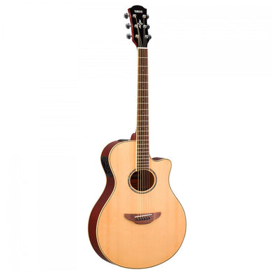 Guitarra Electroacustica Yamaha Apx Natural, Apx600nt