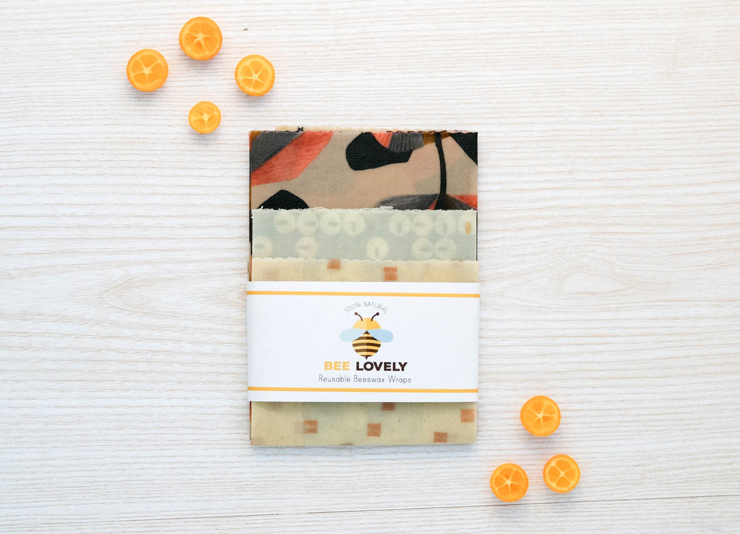 Reusable Beeswax Wrap for Food Storage