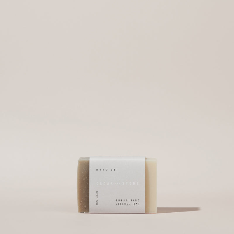 Wake Up- Lime + May Chang Cleanse Bar - Altheå For Woman Kind