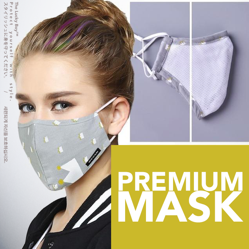 Washable Protection Mask With Replaceable Filter