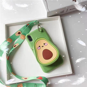 Open image in slideshow, Avocado Case-Wallet
