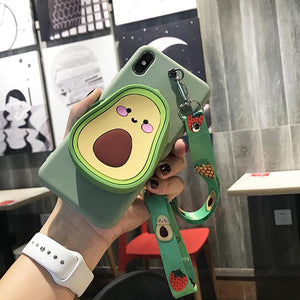 Avocado Case-Wallet