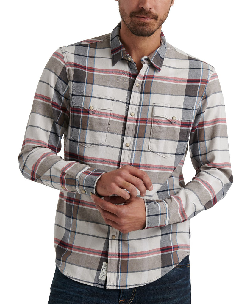 Lucky Brand - Classic Fit Saturday Flannel