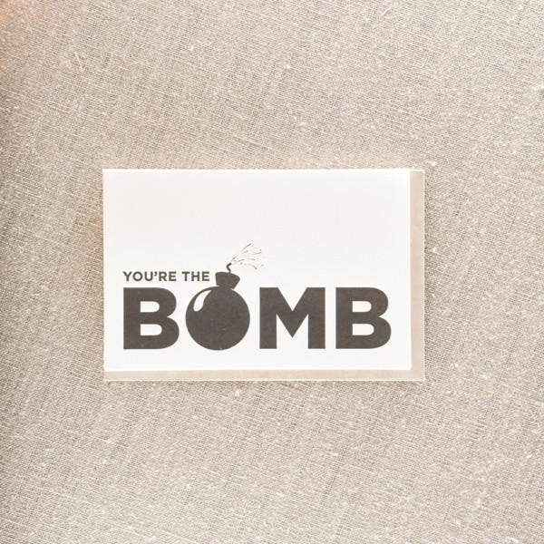 The Bomb Greeting Card