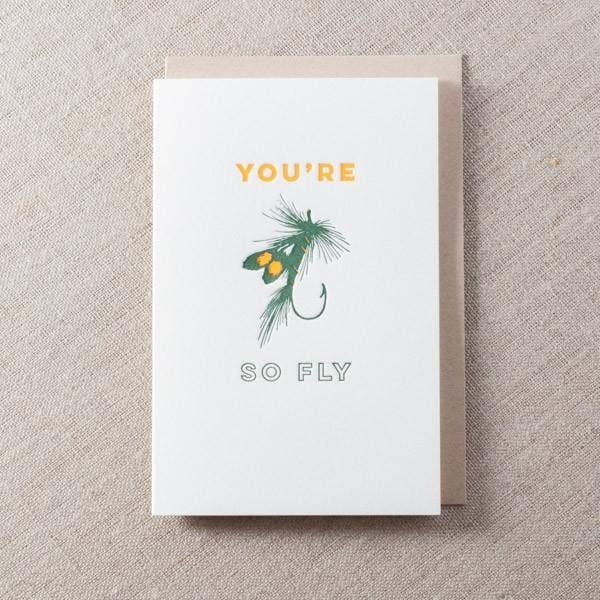 You're so Fly Hook Card