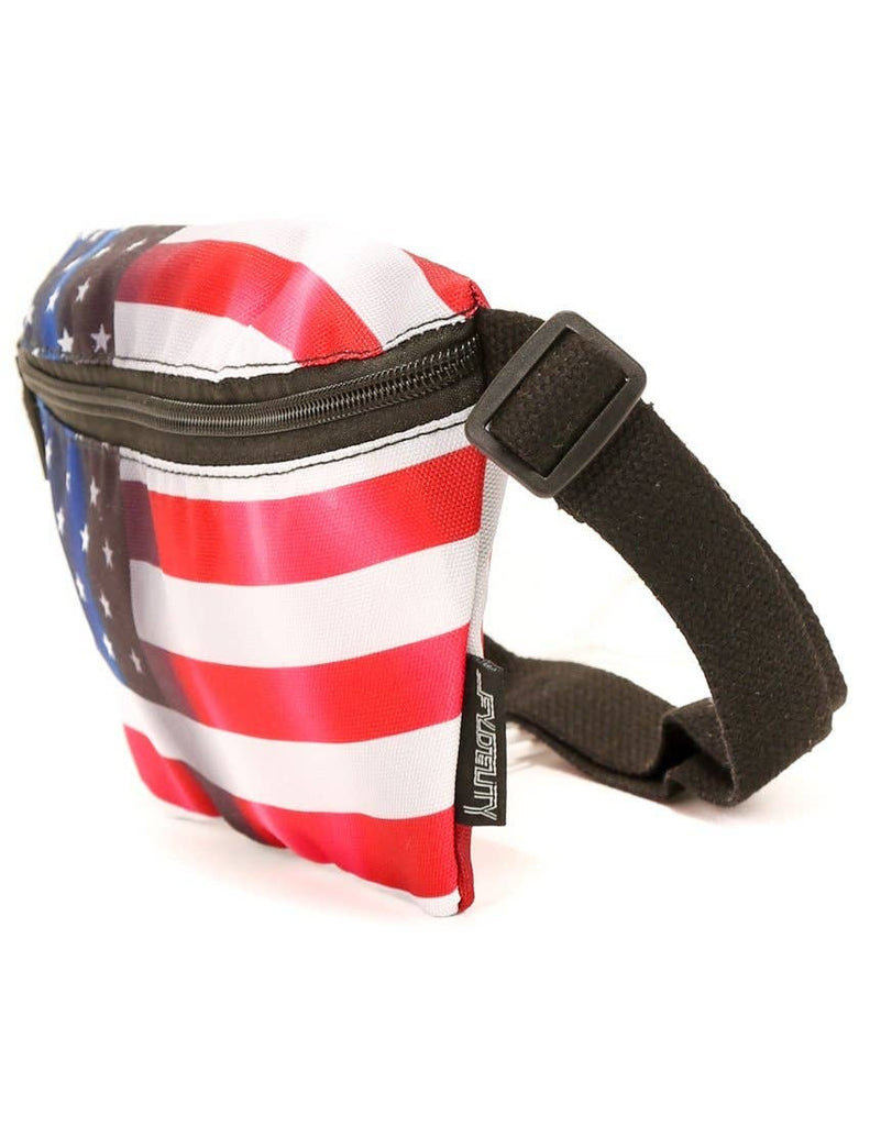 Flags USA Ultra-Slim Fanny Pack