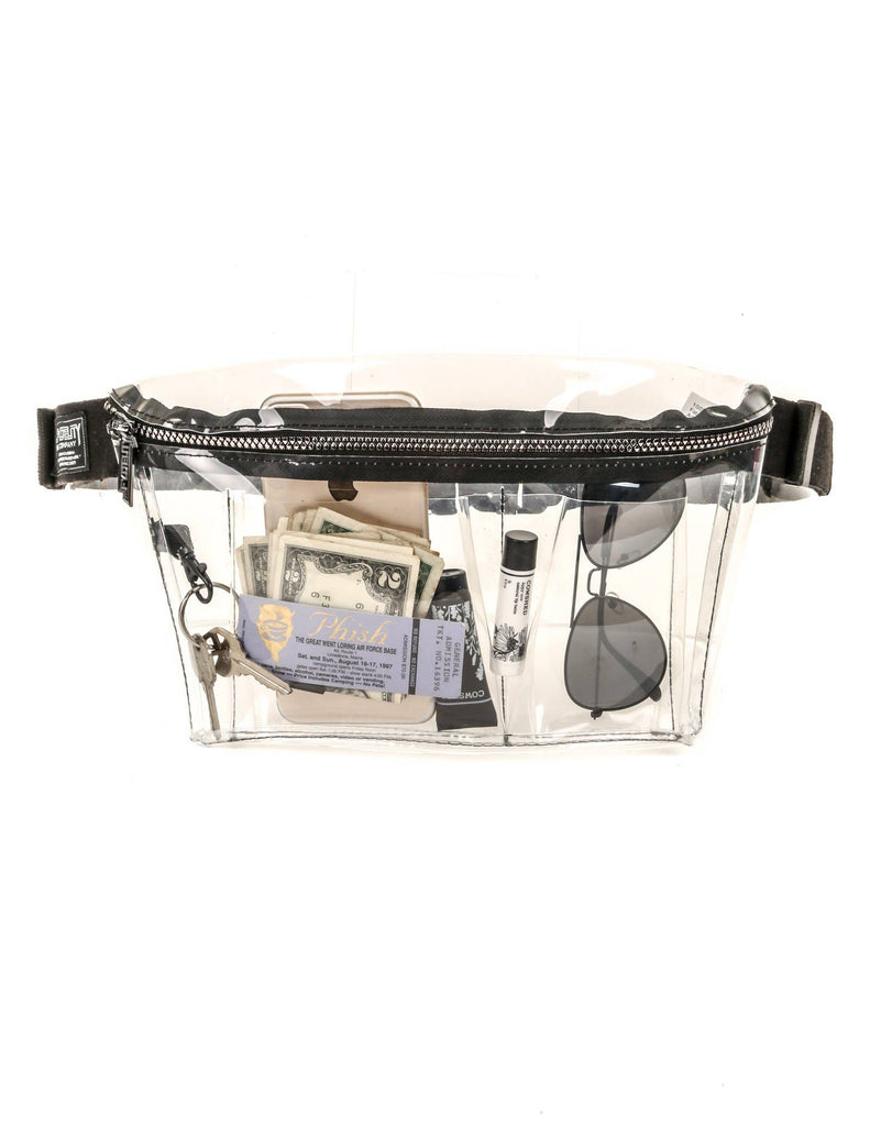 Crystal Clear Xl Ultra-slim Fanny Pack
