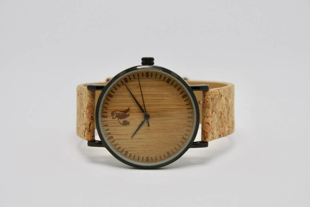 Swole Panda - Cork and Bamboo Watch