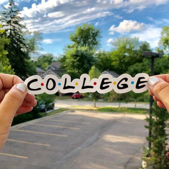 College Sticker