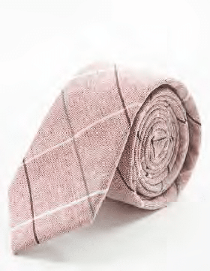 Admiral Row - Rose Patterned Skinny Tie