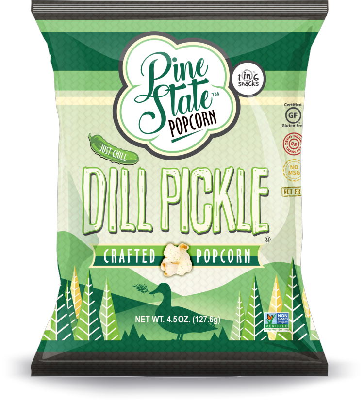 Rustic Roots - 5 oz Dill Pickle Popcorn