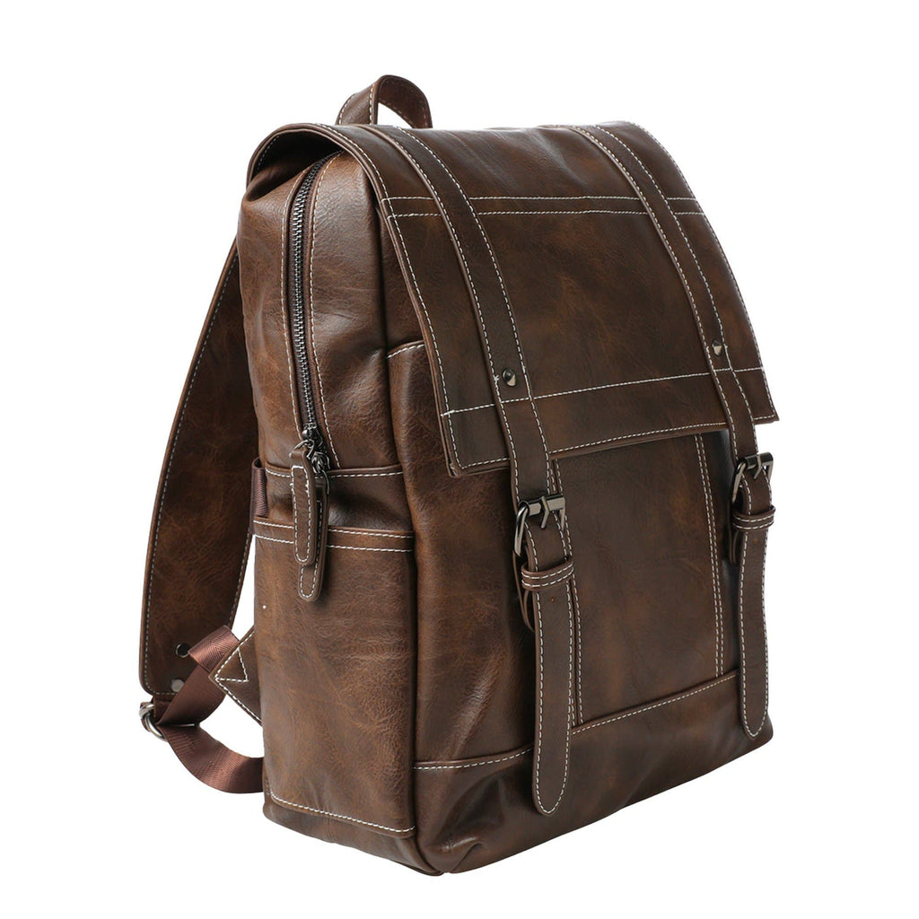 Mad Man - Drake Vegan Leather Backpack