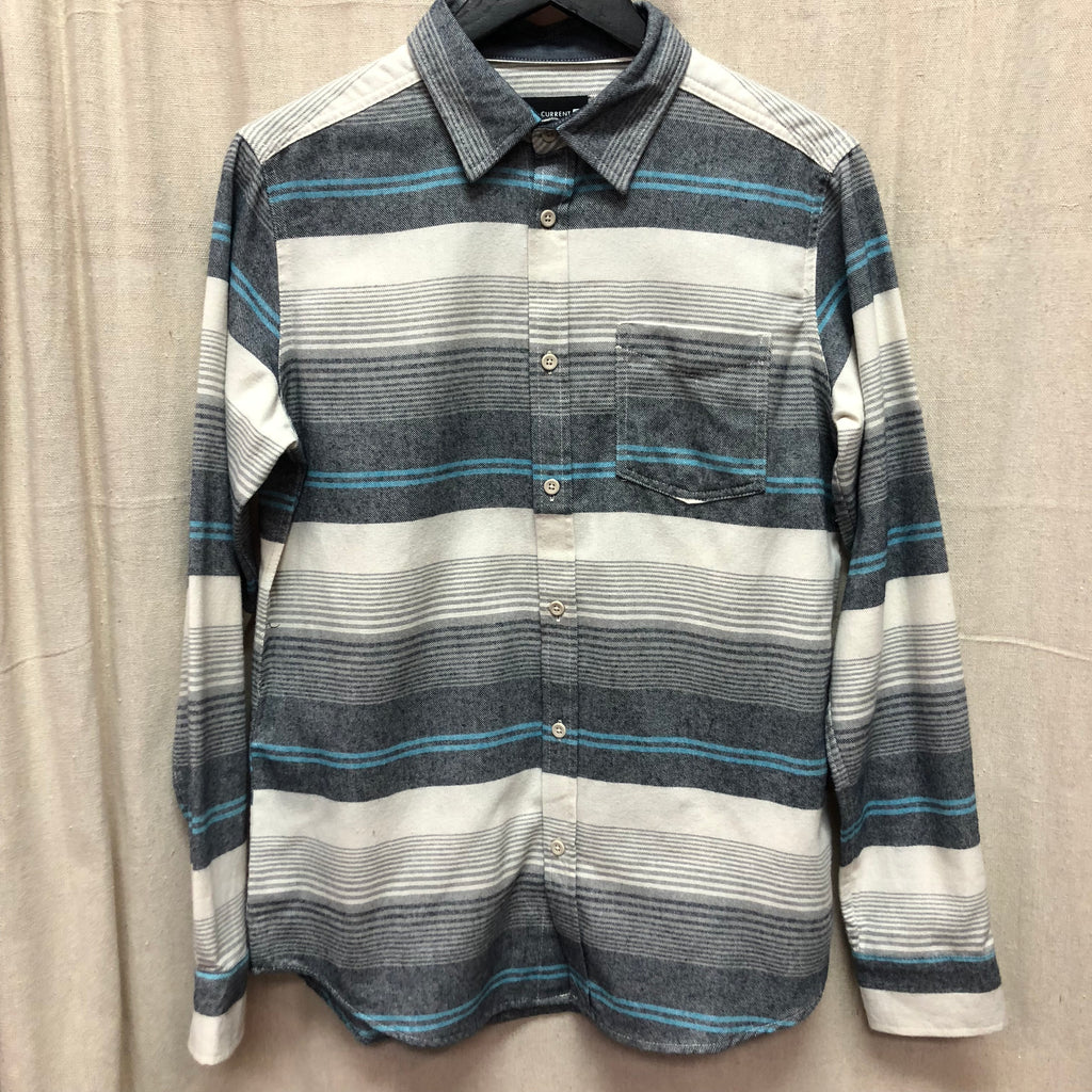 Ocean Current Long Sleeve Stipped Shirt - CRE