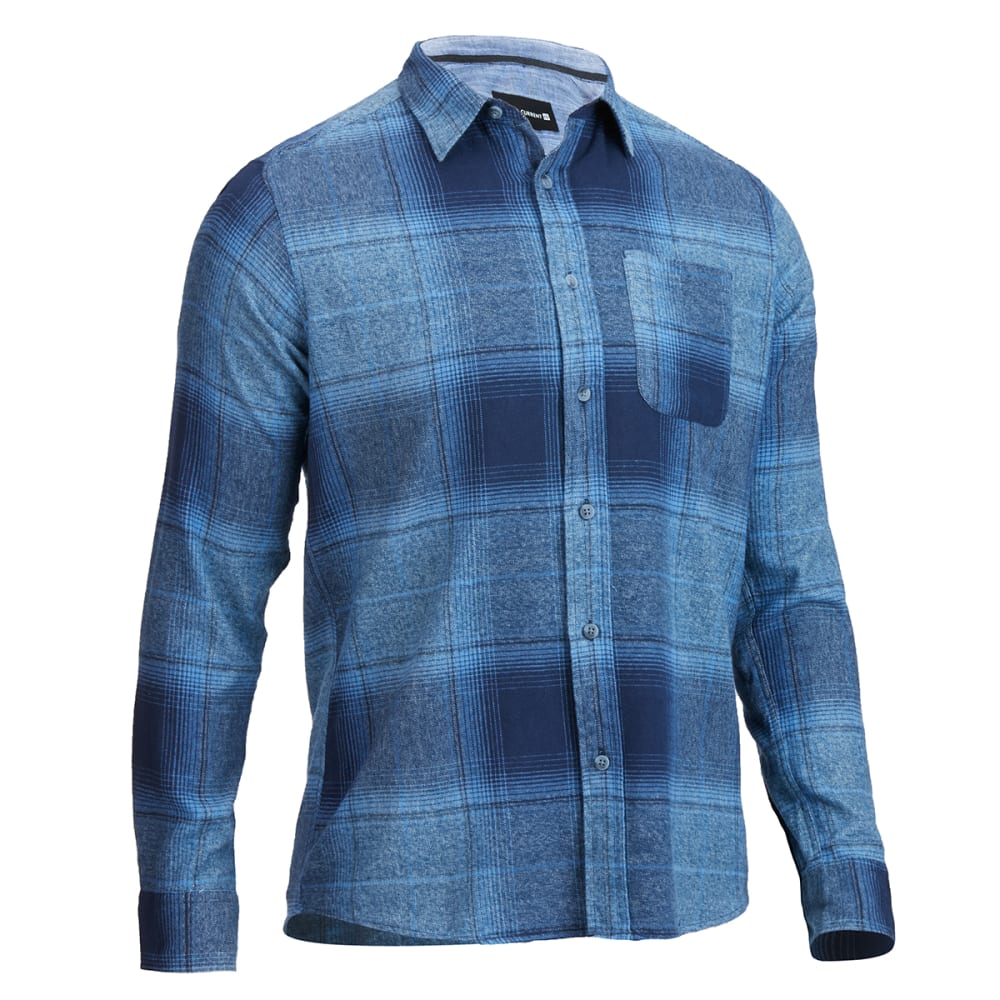 Ocean Current - Blue Shade Flannel