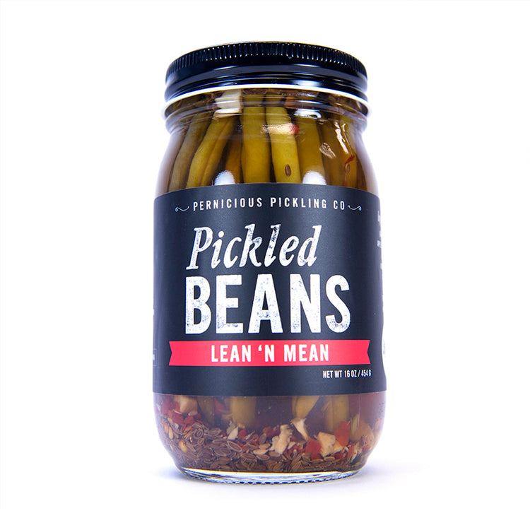 Pickled Beans - Lean 'N Mean (16oz)