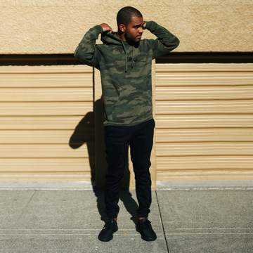 Imperial Motion - Hoodie - Washed Camo