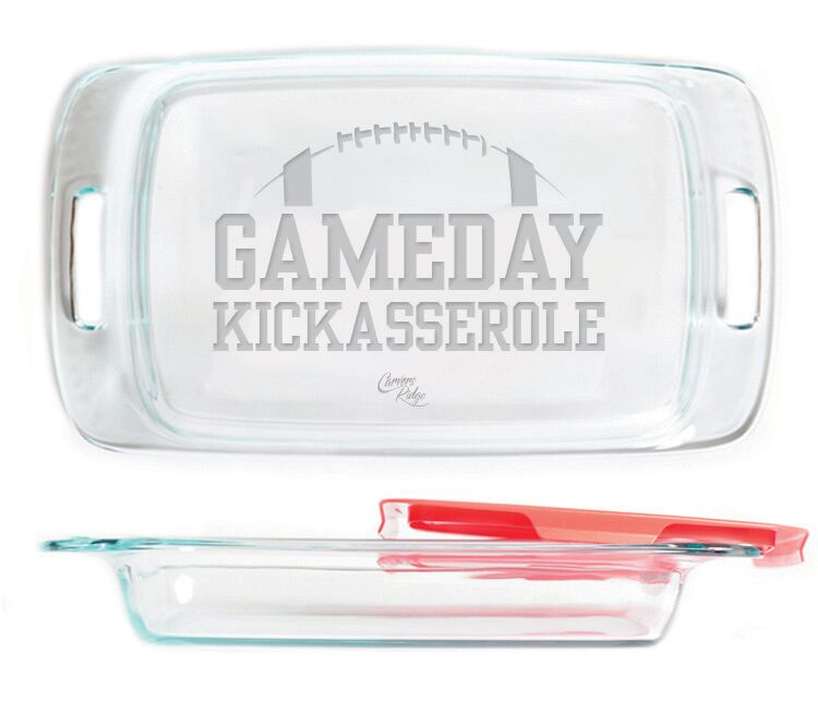 "9x13"" Gameday Kickasserole Backing Pan"