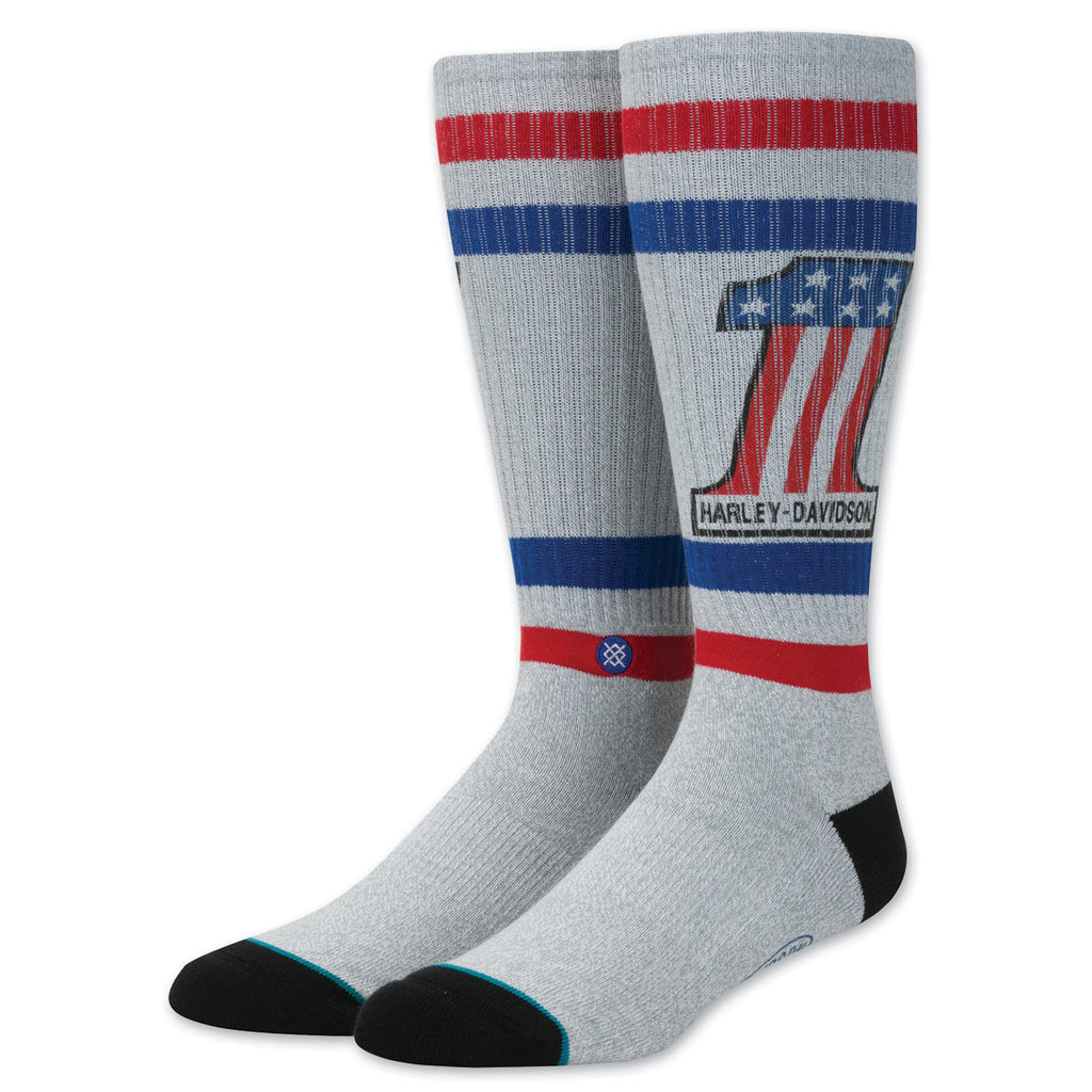 Stance - Number One Harley-Davidson Socks - CREAM